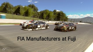 GT Sport FIA Exhibition Season - Fuji Gr3