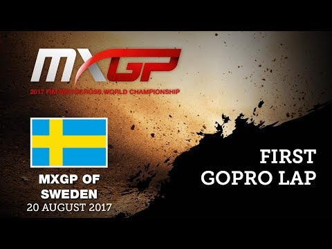 First GoPro Lap with Anton GOLE - MXGP of Sweden 2017  #Motocross