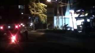 Kecelakaan sepeda motor di cileungsi 2014