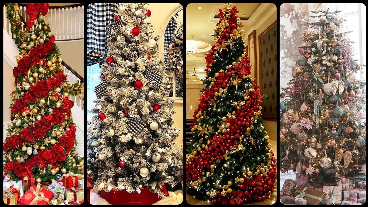 Christmas Designer Ideas For 2021 Top Luxury Christmas Tree Decor Design S Christmas Tree Ideas 2020 2021 Youtube