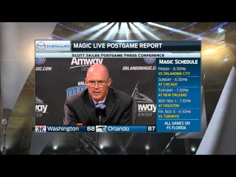 Magic coach Scott Skiles: