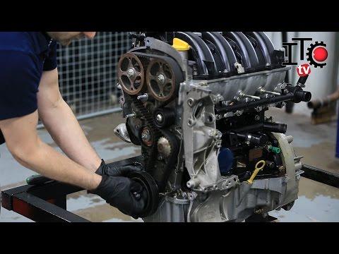 Como cambiar la correa de distribucin en un motor 16 v lvulas