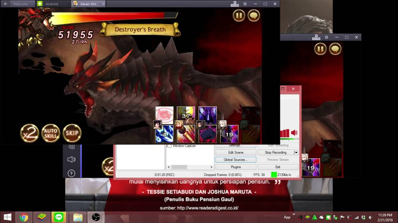 How To Record BlueStacks or Android Application To Video