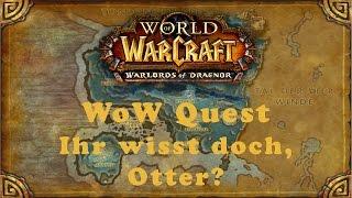 WoW Quest: Ihr wisst doch, Otter? (H)