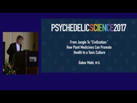 "Gabor Maté: Jungle To ""Civilization"" - How Plant Medicines Can Promote Health In a Toxic Culture"