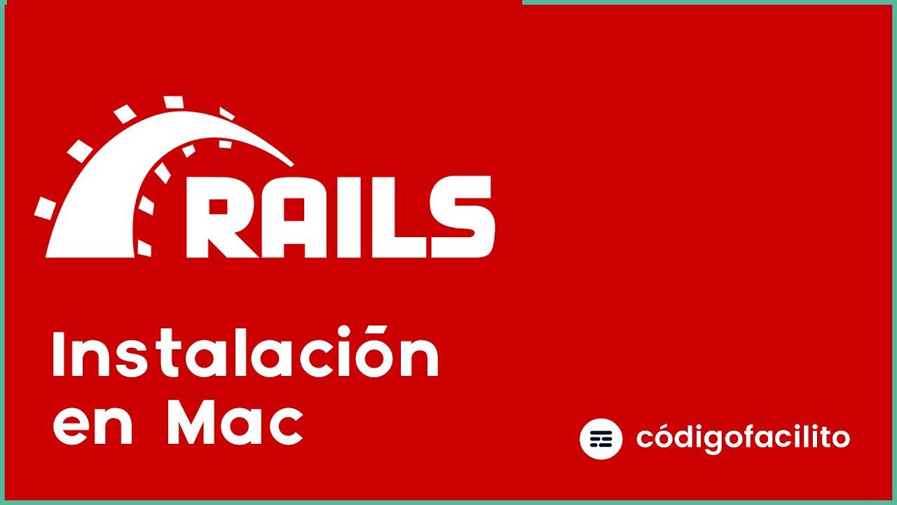 Cómo instalar Ruby on Rails en Mac