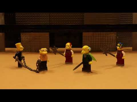 The Comedy of Errors – Complete play using Lego