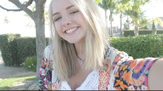 Completed Summer Look: Hair, Makeup & Outfit | Maddi Bragg Thumbnail