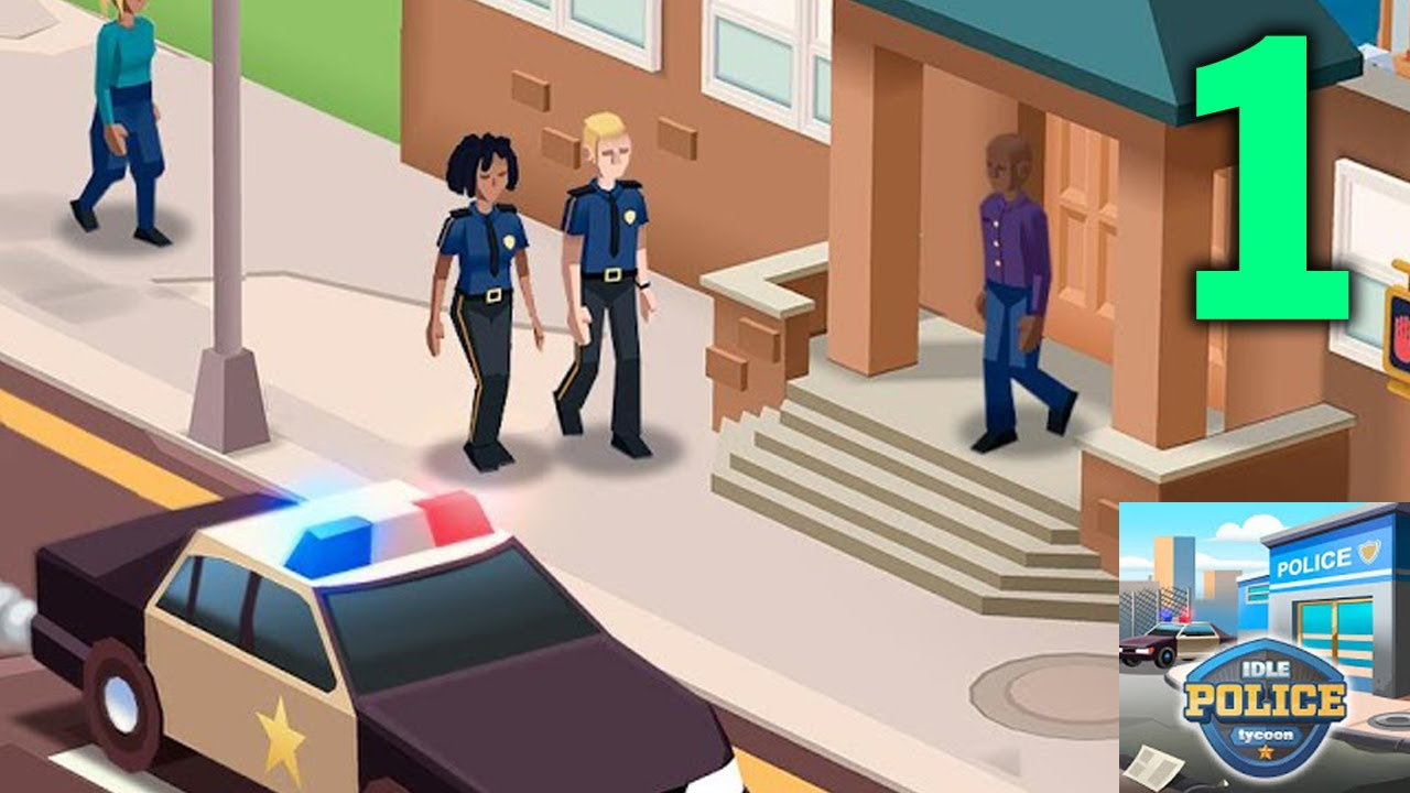 Idle Police Tycoon - Cops Game Gameplay Walkthrough - Part ...