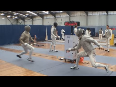 UNSW v Sydney Sabre A GOLD 2014 NSW Club Sabre Team Championships