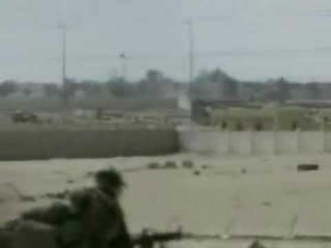 USMC fighting in iraq 2003 Um Qasar