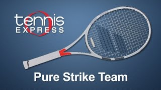 Babolat Pure Strike Team Tennis Racquet Review | Tennis Express