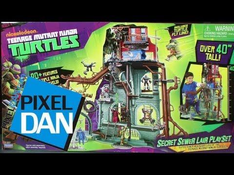 Nickelodeon Teenage Mutant Ninja Turtles Secret Sewer Home Playset Review