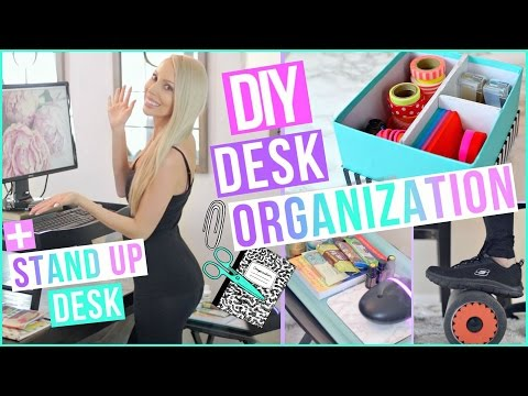 desk-organization-ideas-to-boost-productivity-+-diy-stand-up-desk!