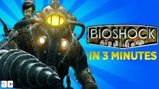 Arcade Cloud: The Story of Bioshock In 3 Minutes! | Video Games In 3