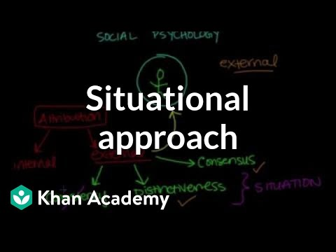 Situational approach | Behavior | MCAT | Khan Academy