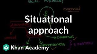 Situational approach   Behavior   MCAT   Khan Academy