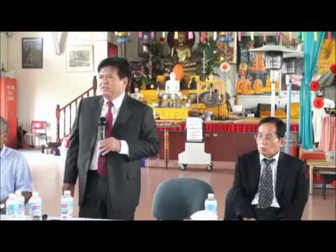 Khmernewstime - Nhem Panharith Gives His Speeches to Khmer Citizens in Australia