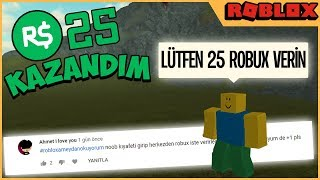 😲 I'VE BEEN NOOB ROBUX AND... (I Challenge Roblox) 🤑roblox turkish, muammer veysel