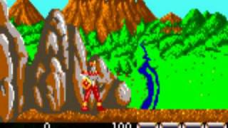 MESS ejecutando Rygar Atari Lynx.avi