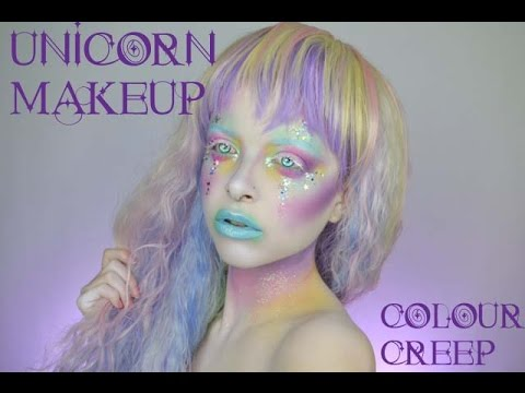 2d8bbf20e56 Pastel UNICORN Makeup Tutorial