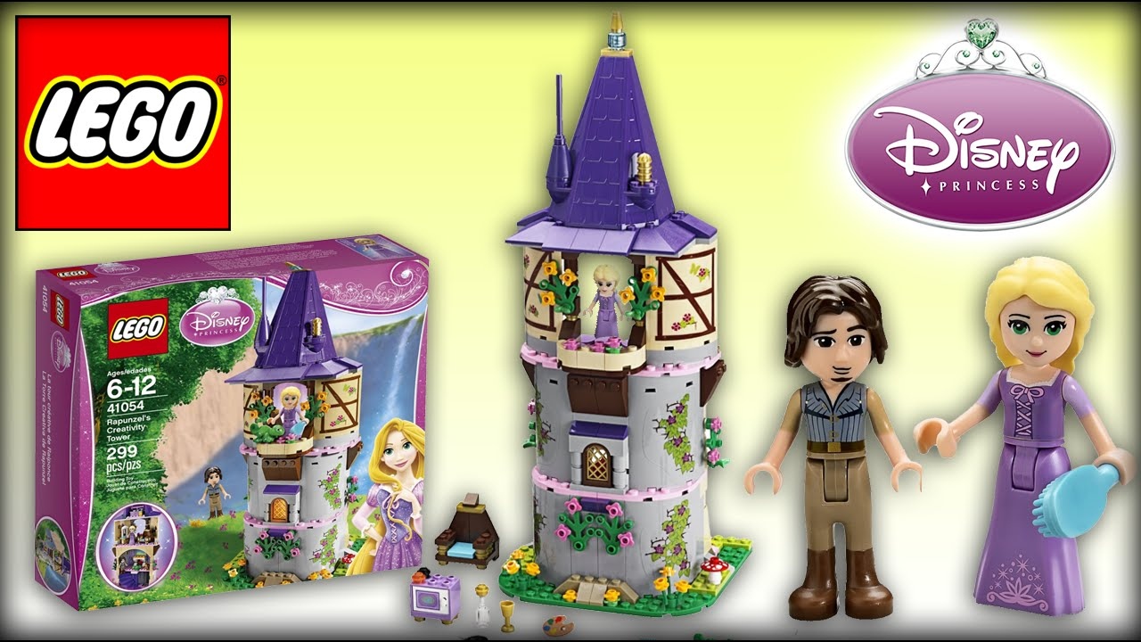 lego disney princess rapunzel creativity tower lego