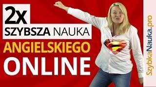 Angielski Online: 2x Szybsza Nauka Angielskiego Online - za darmo!