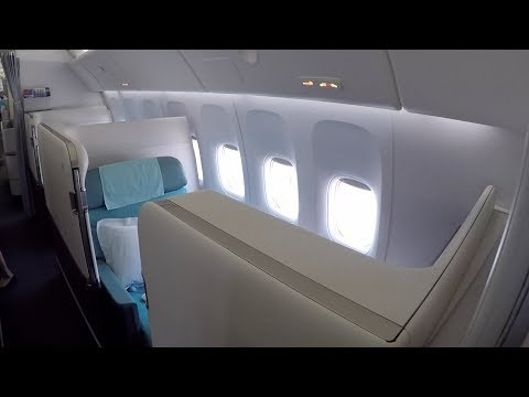 Flight Report IAD-ICN Korean Air First Class 777-300 Kosmo Suite 2.0 (Washington to Seoul)