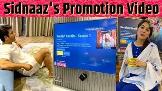 Sidnaaz Promotes Bandish Bandits | Shehnaaz & Sidharth Shares Review on Bandish Bandits Series