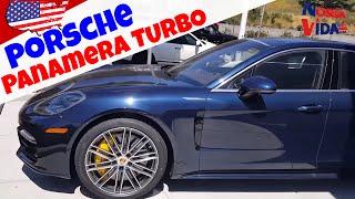 Porsche Panamera TURBO 2017 - Quanto Custa nos EUA