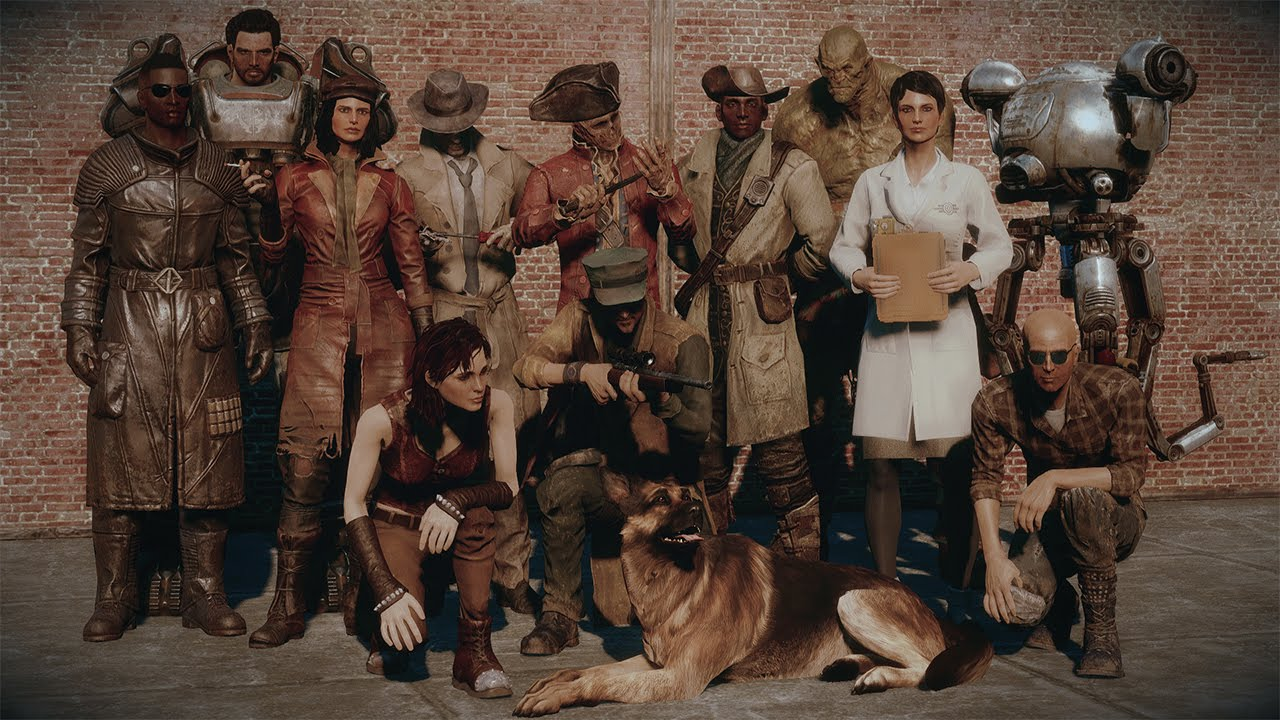 Party Swapping Complete Fallout 4