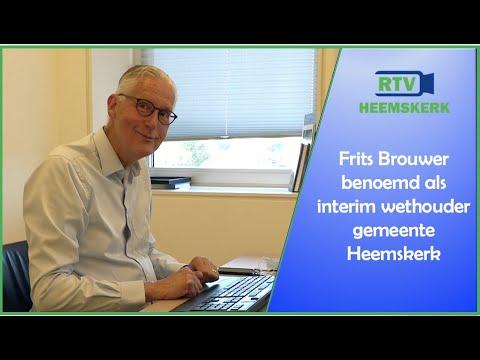 Frits Brouwer benoemd tot interim wethouder Heemskerk