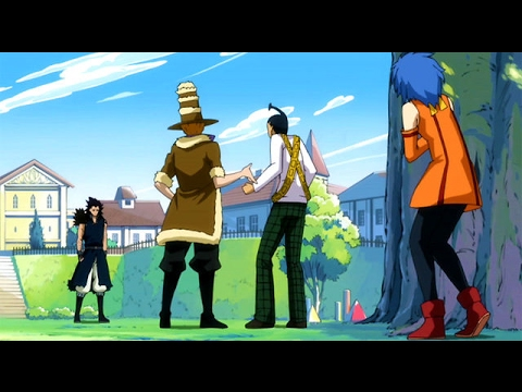 Fairy Tail: Laxus Confronts Gajeel English Dubbed