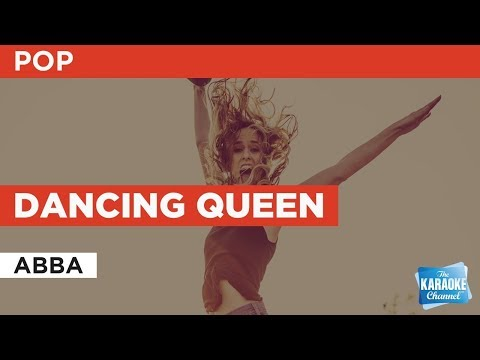 Dancing Queen in the style of ABBA | Karaoke with Lyrics