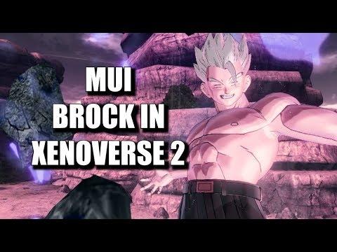 Mastered Ultra Instinct Brock, IN XENOVERSE 2!   Dragon Ball Xenoverse 2   Online Battles  