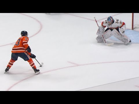Panthers and Oilers square off in a shootout