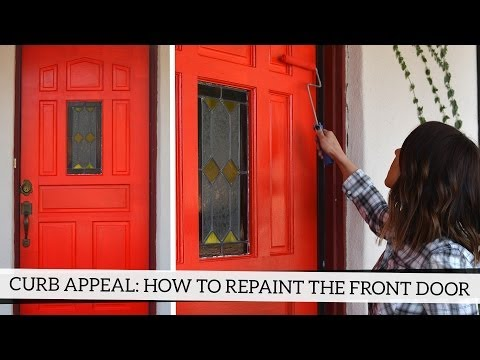 Curb Appeal: How To Repaint Your Front Door