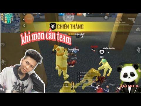 (Tấu Hài Free Fire) Khi Hà Mon Thay Lầy Cân Team