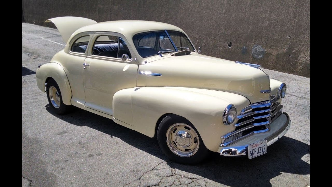 Coupe 1948 chevy stylemaster coupe for sale : 1948 Chevy Coupe 454 Restomod coupe Radiator by the Radiator Works ...