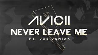 Avicii - Never Leave Me ft. Joe Janiak [Lyric Video]