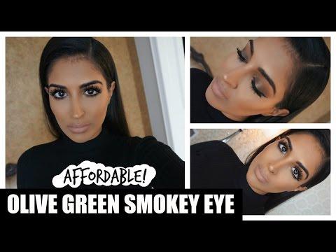 Affordable Olive Green Smokey Eye - Carli Bybel x BH Cosmetics thumbnail