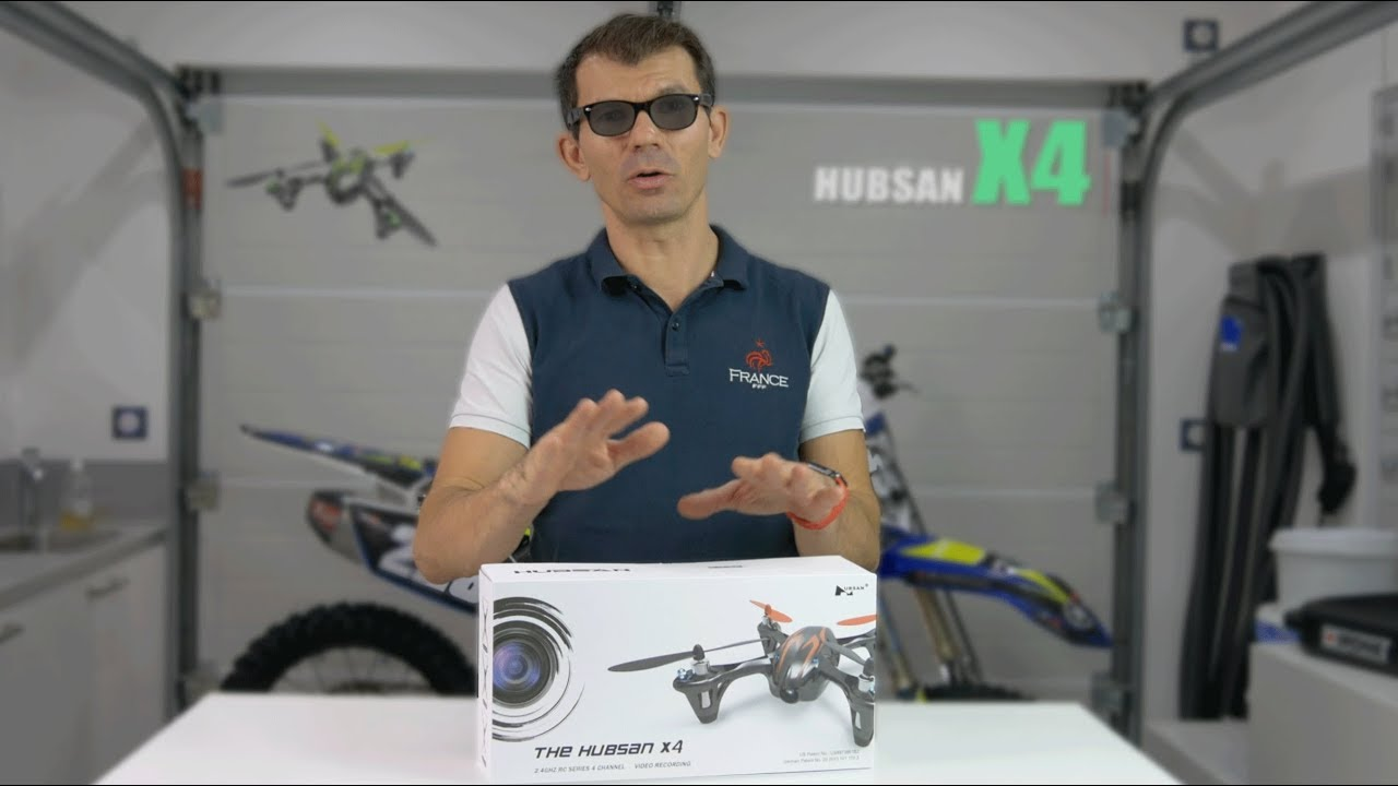 un drone pour apprendre piloter unboxing et test du mini drone husban x4 id e cadeau top. Black Bedroom Furniture Sets. Home Design Ideas