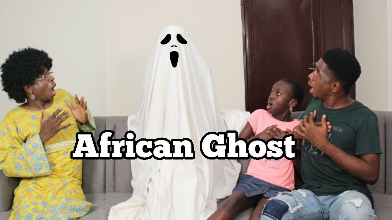GHOST IN AN AFRICAN HOME | Mc Shem Comedian