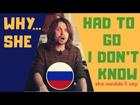 10 Basic Russian Words And Phrases For Broken Relationships (Russian \ English)