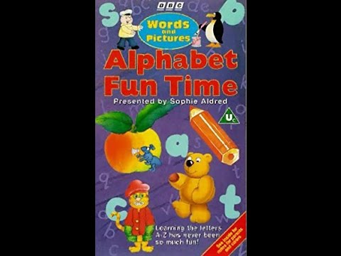 Words And Pictures - Alphabet Fun Time Complete VHS