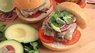 Tex Mex Burgers Recipe