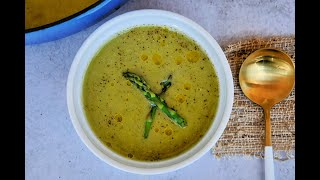 Soup Recipe: DELICIOUS Asparagus, Leek & Pea Soup by Everyday Gourmet with Blakely