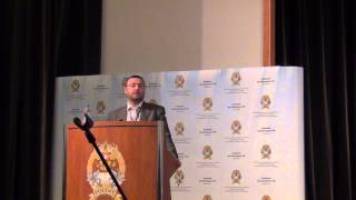 Георгий Белозеров:приветственная речь