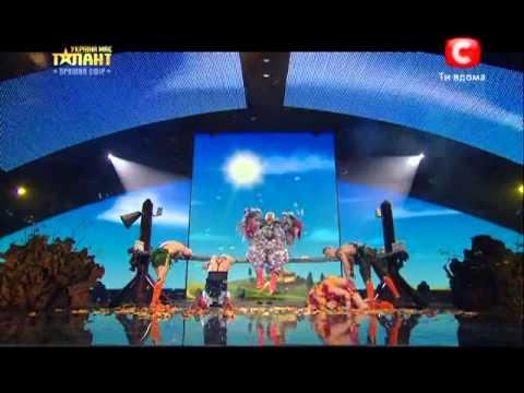 Видео, 0  Украина мае талант 5   CANDY MEN  27 04 13  Номер    2 полуфинал