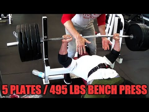 BENCHES 5 PLATES and then Vlogging! TAKE ACTION!